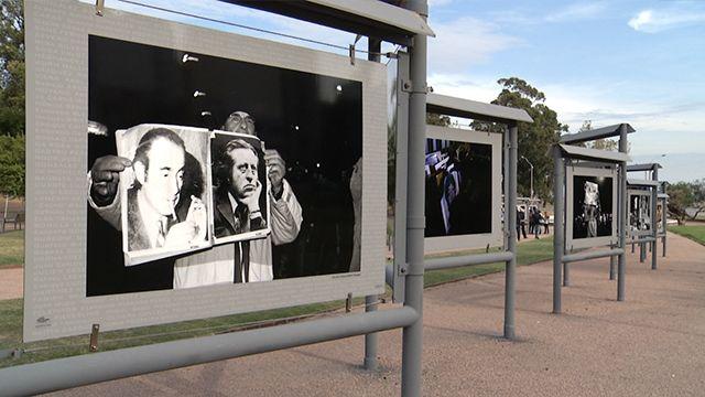 Inauguraron muestra fotográfica sobre las 20 marchas del silencio