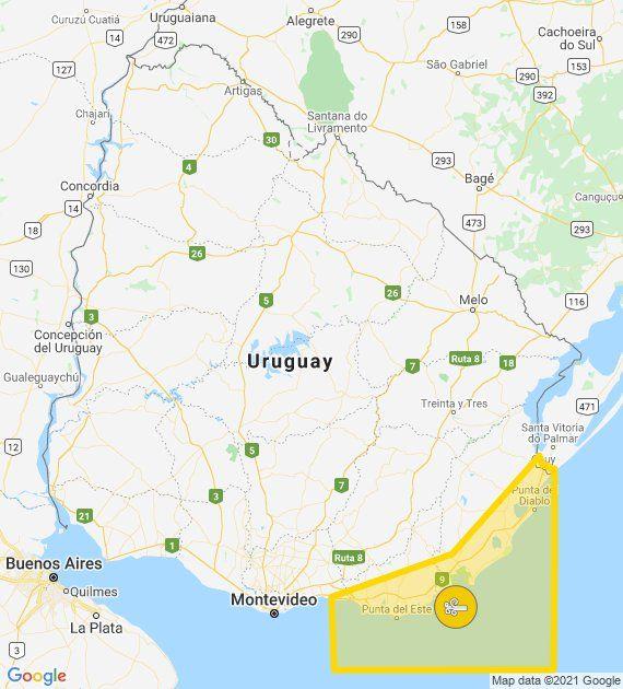 Alerta amarilla en Punta del Este y zona oceánica; lluvias hasta el viernes en todo el país