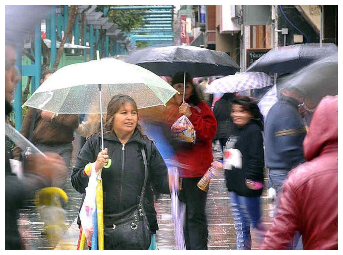 Fin de semana inestable con lluvias escasas y mejorías temporarias