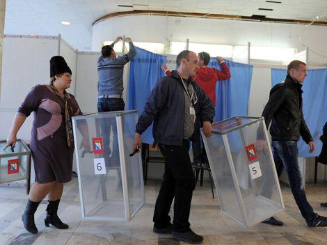 Aumenta la tensión en Ucrania en víspera del referéndum en Crimea