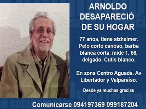 Llamado a la solidaridad: hombre con alzheimer desaparecido