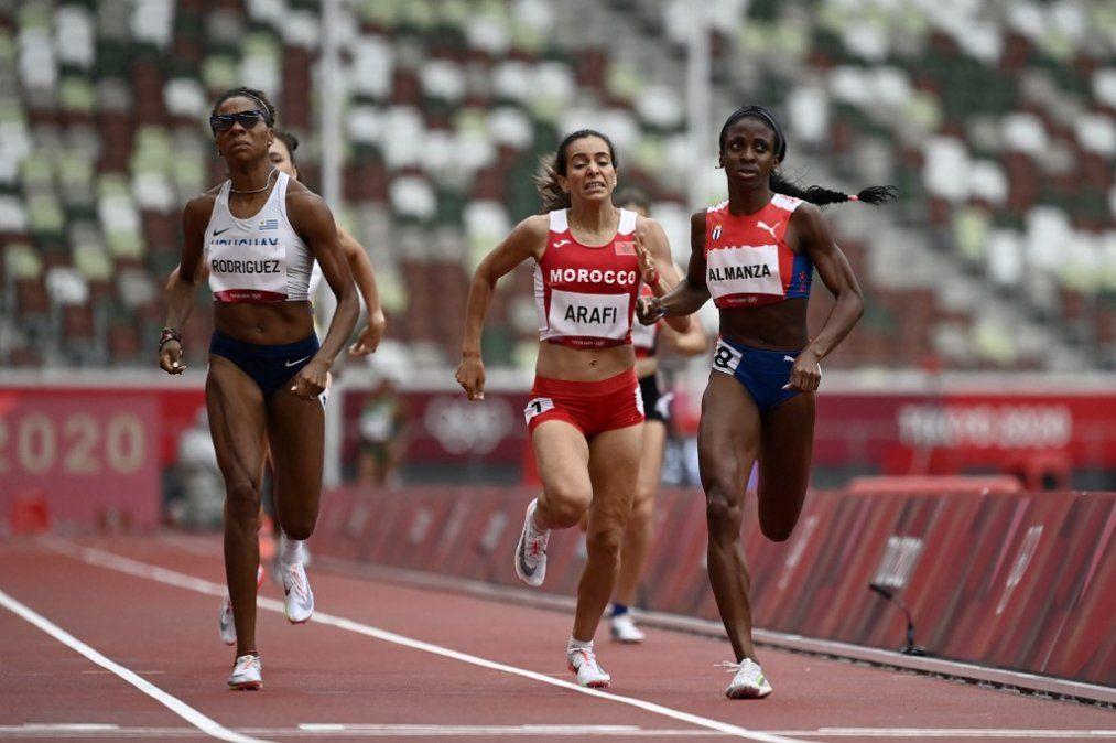Déborah Rodríguez lleva a Uruguay a la semifinal olímpica de 800 metros