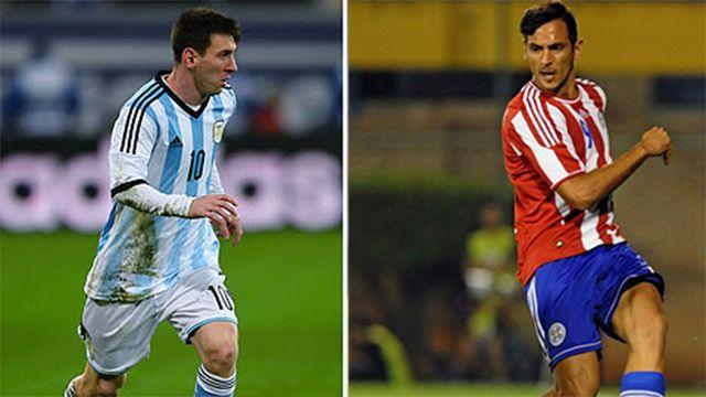 Los reservados de Argentina y Paraguay para la Copa América