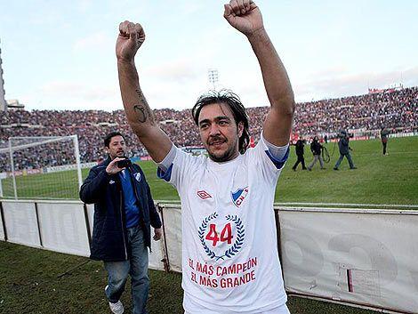 Nacional campeón del torneo uruguayo de la mano del Chino