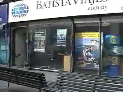 Agencia de viajes asaltada por tercera vez en una semana