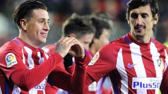 Josema Giménez anotó de cabeza y metió al Atleti en semis de Copa del Rey