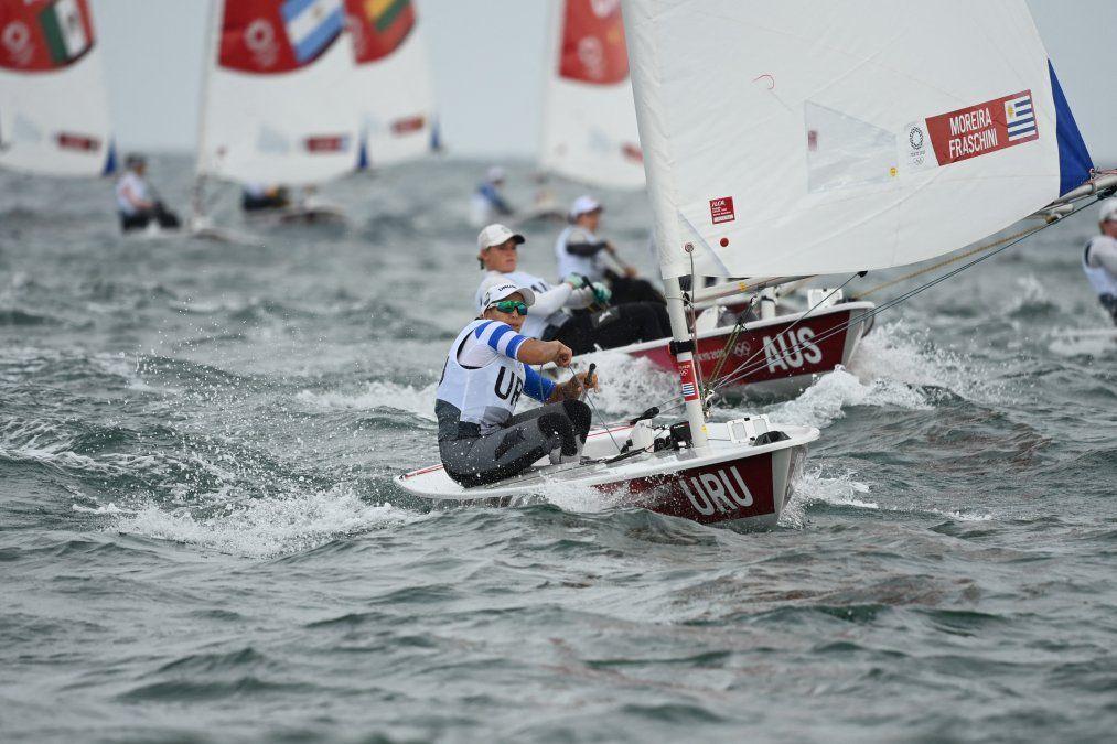 Lola Moreira disputó dos nuevas regatas y bajó tres puestos en la tabla acumulada