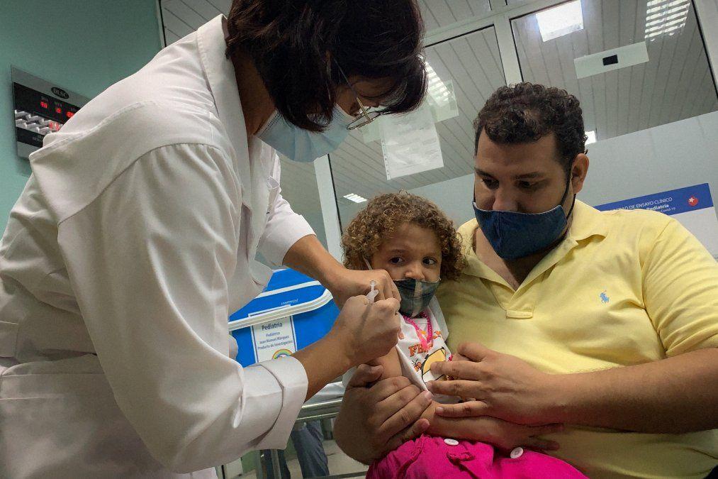 Cuba comienza vacunación anticovid en niños y jóvenes de 2 a 18 años