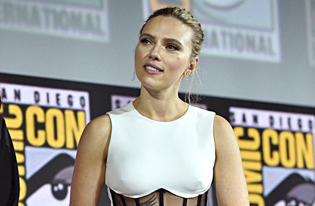 Scarlett Johansson demandó a Disney por estreno de Black Widow en streaming