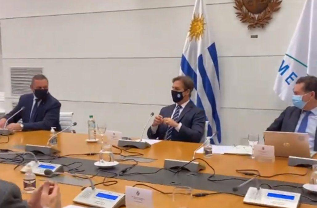 Lacalle Pou convocó a una reunión con los partidos del gobierno y los de oposición