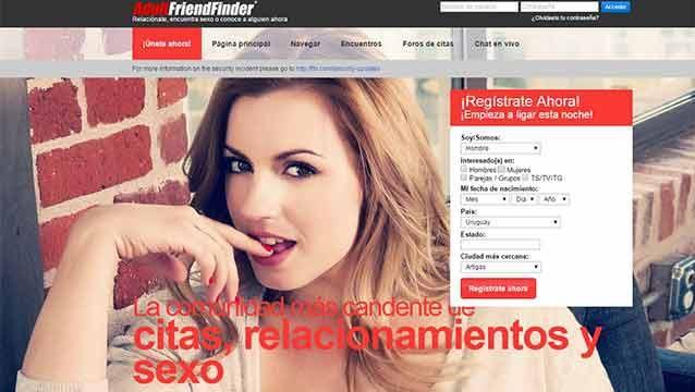 Hackean el sitio Adult FriendFinder; revelan datos de millones de usuarios