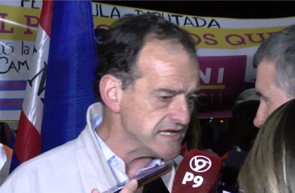 La molestia de Manini Ríos cuando le preguntaron por los desaparecidos
