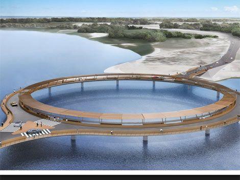 Puente de Laguna Garzón: Estado pagará a medias con un empresario