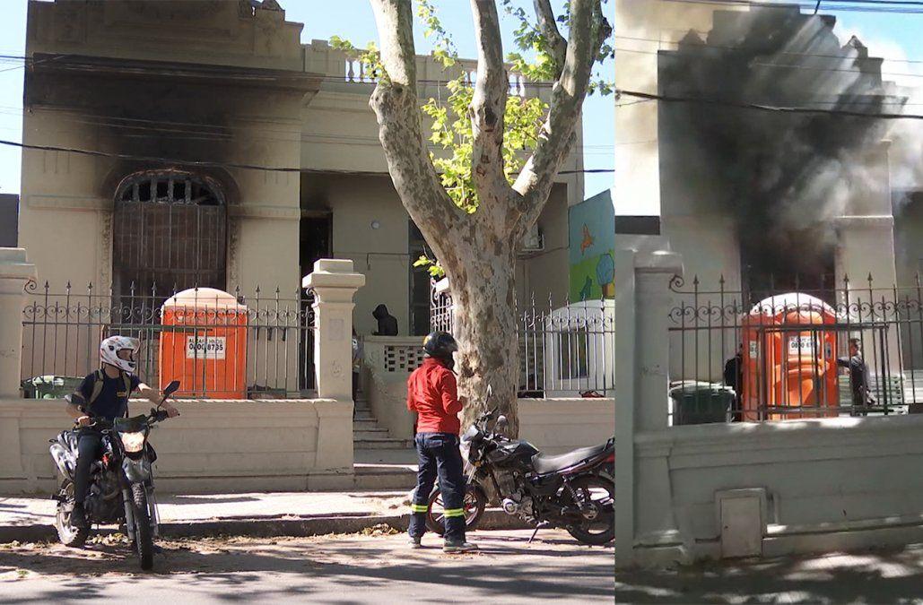 Incendio destruyó el dormitorio de un hogar del INAU en Capurro