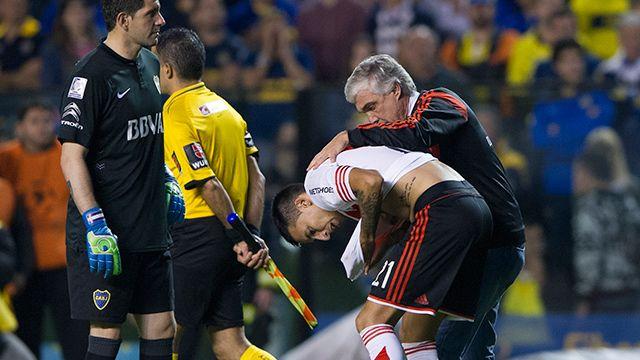Deciden si Boca queda fuera de la Libertadores o si se juega el `pico´