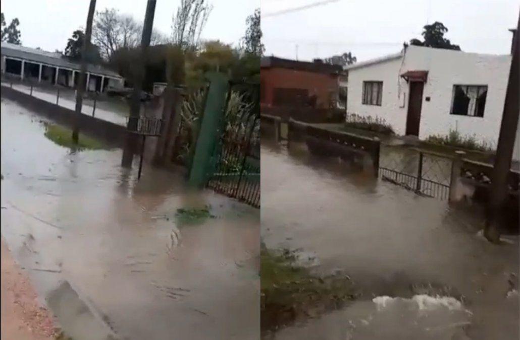 Decenas de personas están fuera de sus hogares por las intensas lluvias de las últimas horas