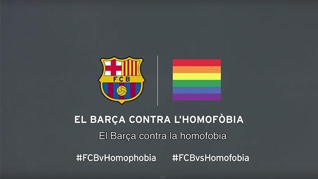 Emotiva campaña publicitaria del Barça contra la homofobia
