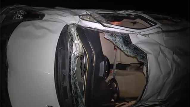 Aumentan a tres los fallecidos del accidente en Ruta 15, otros siete heridos