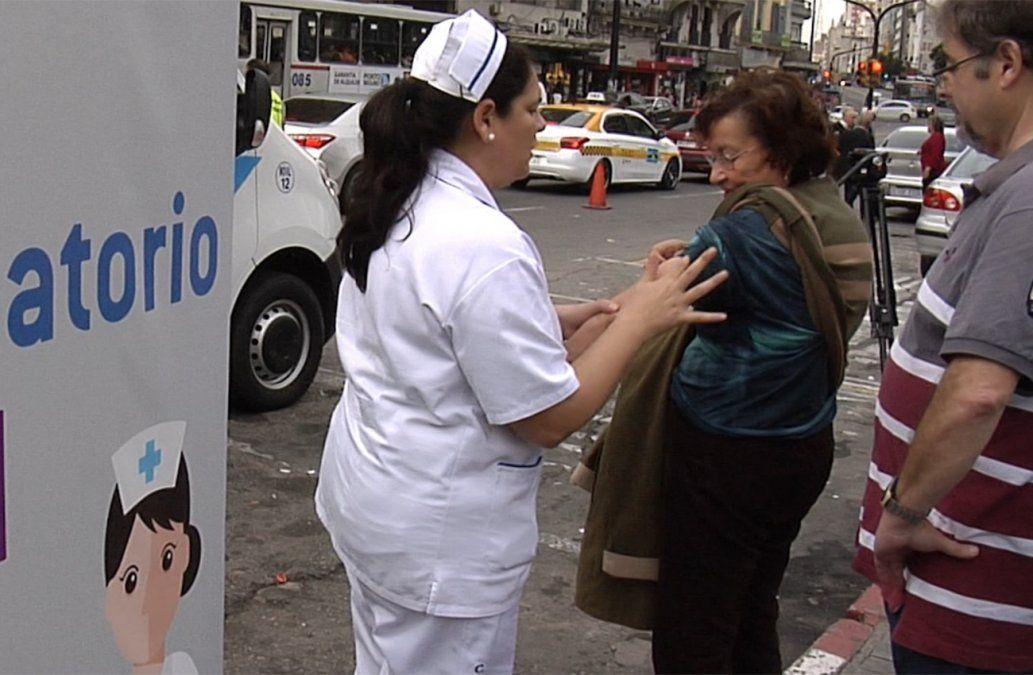 Solo en 24 horas, 30.000 personas se vacunaron contra la gripe
