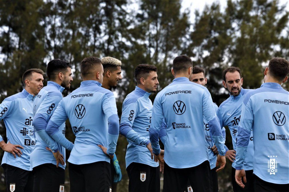 Foto: Twitter Selección uruguaya
