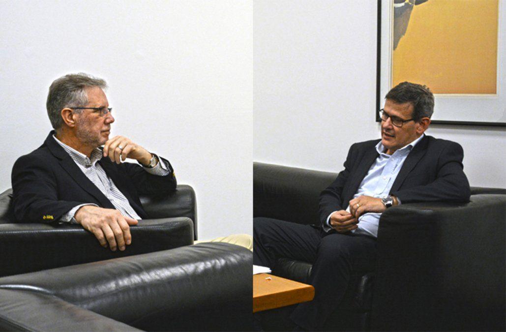 Vázquez y Díaz se reunieron tras la polémica generada por declaraciones de Layera