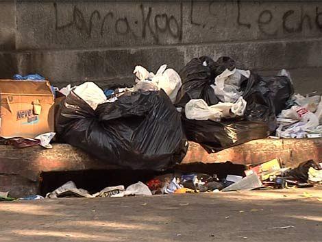 El 52% de los montevideanos está desconforme con la limpieza