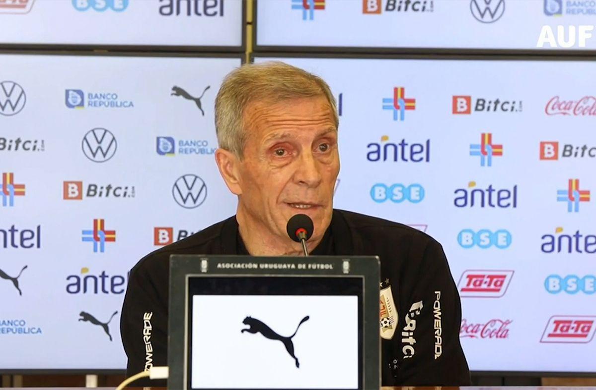 Tabárez se defendió de las críticas: Nunca fuimos el gran equipo de Sudamérica