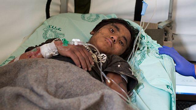 Adolescente rescatado en Nepal sobrevivió cinco días comiendo mantequilla