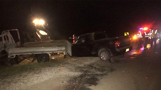 Choque frontal entre camión y una camioneta dejó tres muertos en Maldonado