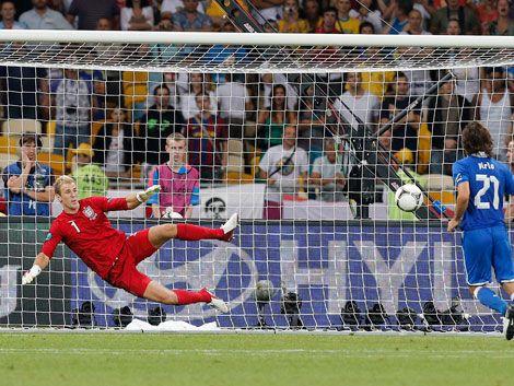 Final feliz en penales para Italia en la Eurocopa