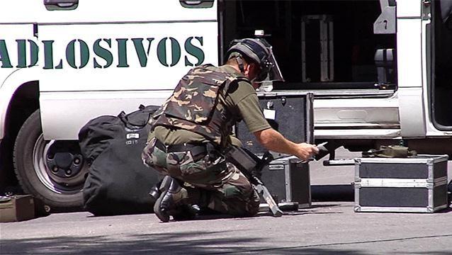 Juez indagó a funcionario de la embajada de Israel por artefacto explosivo