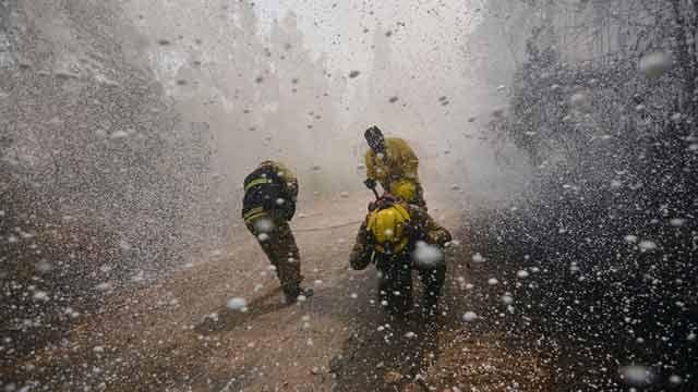 Más de 40 detenidos por provocar mortales incendios forestales en Chile