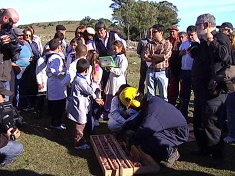 Comunidad de Pepe Núñez participó en inicio de trabajos de Ancap