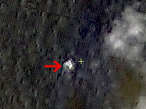 Satélite chino detecta posibles restos de avión desaparecido