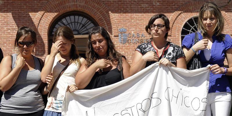 Triple crimen en España: uno de los niños luchó por su vida