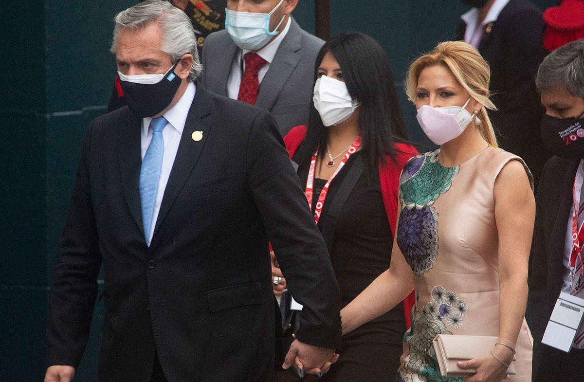 Gobierno argentino confirmó que la esposa del presidente Alberto Fernández está embarazada