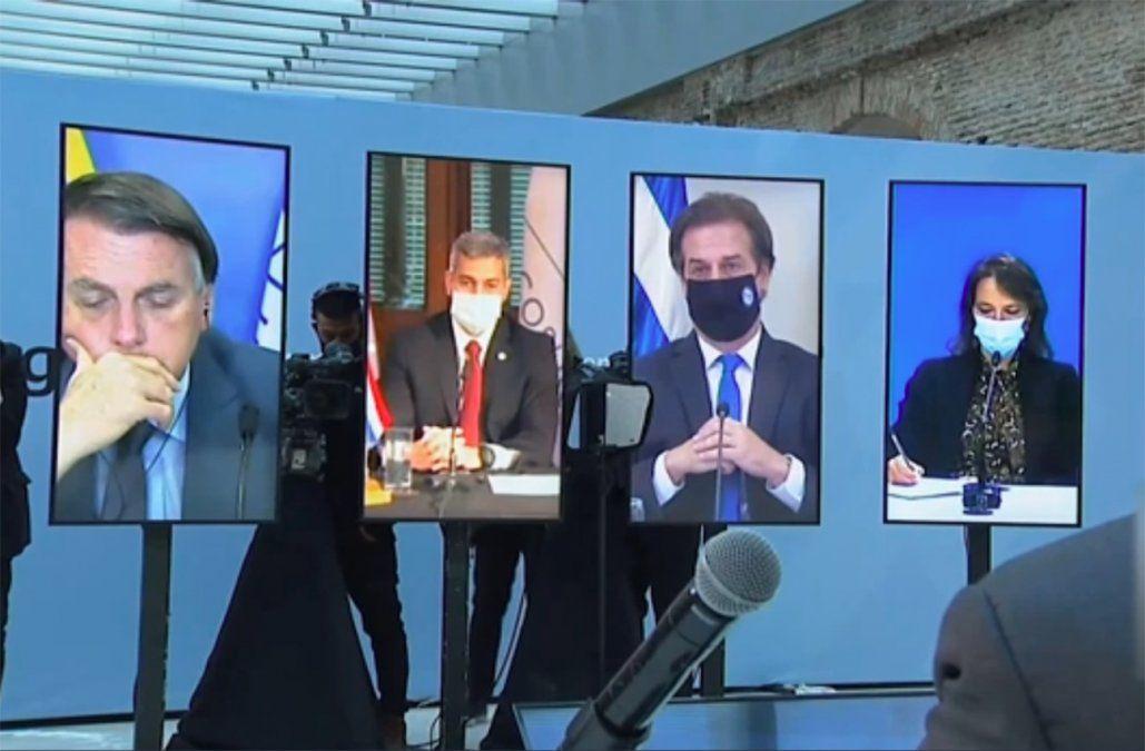 Lacalle Pou dijo que Uruguay no está dispuesto a quedarse quieto en el Mercosur