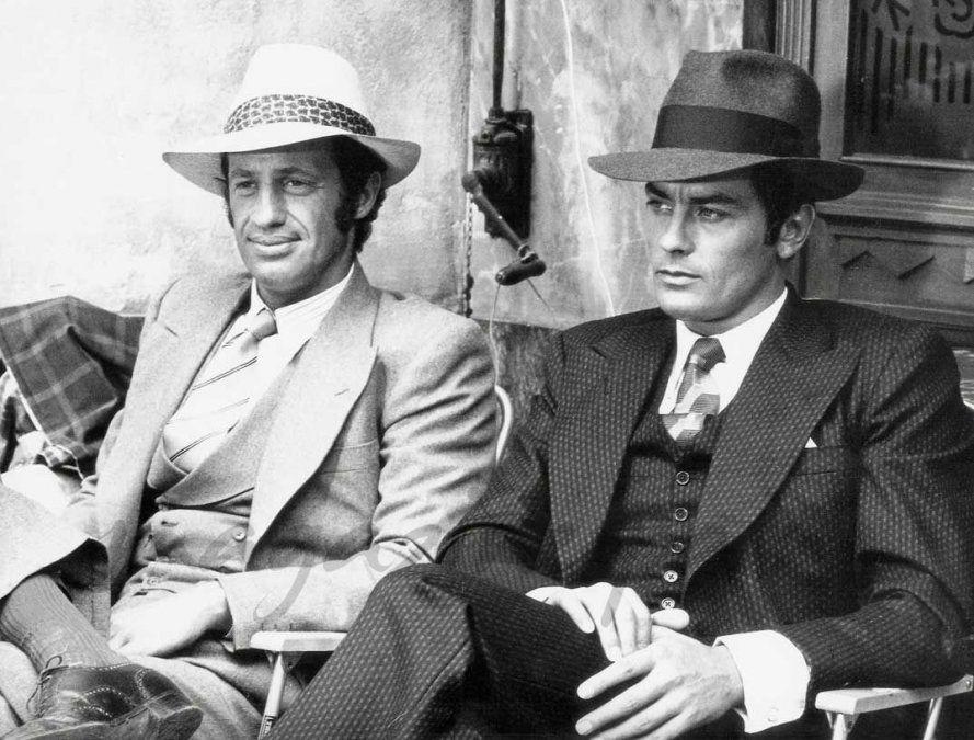 Delon y Belmondo en Borsalino (1970)