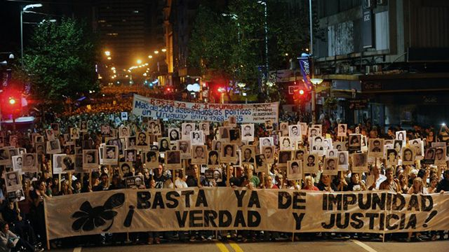 Se realizó la vigésima marcha del silencio y fue una de las más convocantes