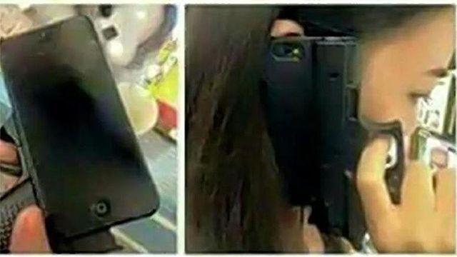 ¡El colmo! Protectores para Iphone con forma de revólver
