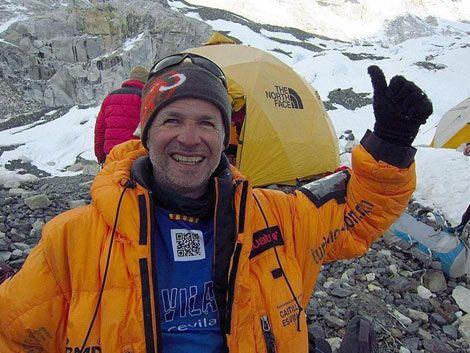 Legendario alpinista Juan Garra se quedó en el cielo