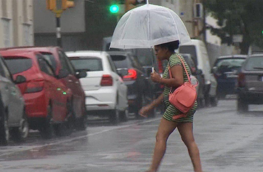 Alerta: tormentas fuertes y lluvias intensas afectarán a 14 departamentos