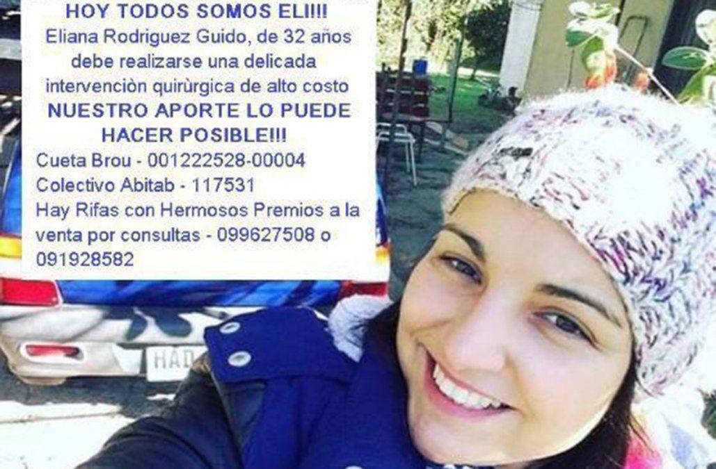 A Eliana le diagnosticaron cáncer y necesita 450.000 pesos para operarse el miércoles