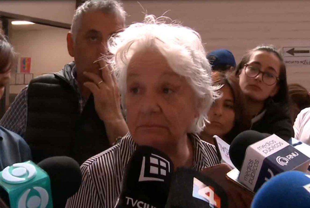 Topolansky llamó a no votar la reforma constitucional Vivir sin miedo