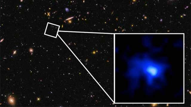 Astrónomos de EEUU ubican la galaxia más distante jamás encontrada