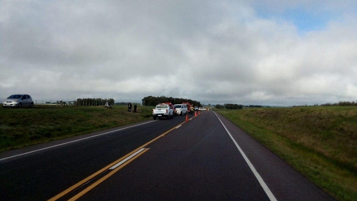 Cuatro fallecidos en accidente de tránsito en ruta 8; entre las víctimas un niño de 2 años