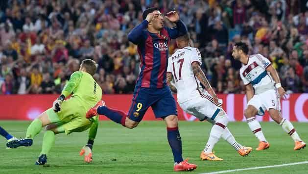 Dos de Messi y uno de Neymar para la victoria 3-0 sobre el Bayer