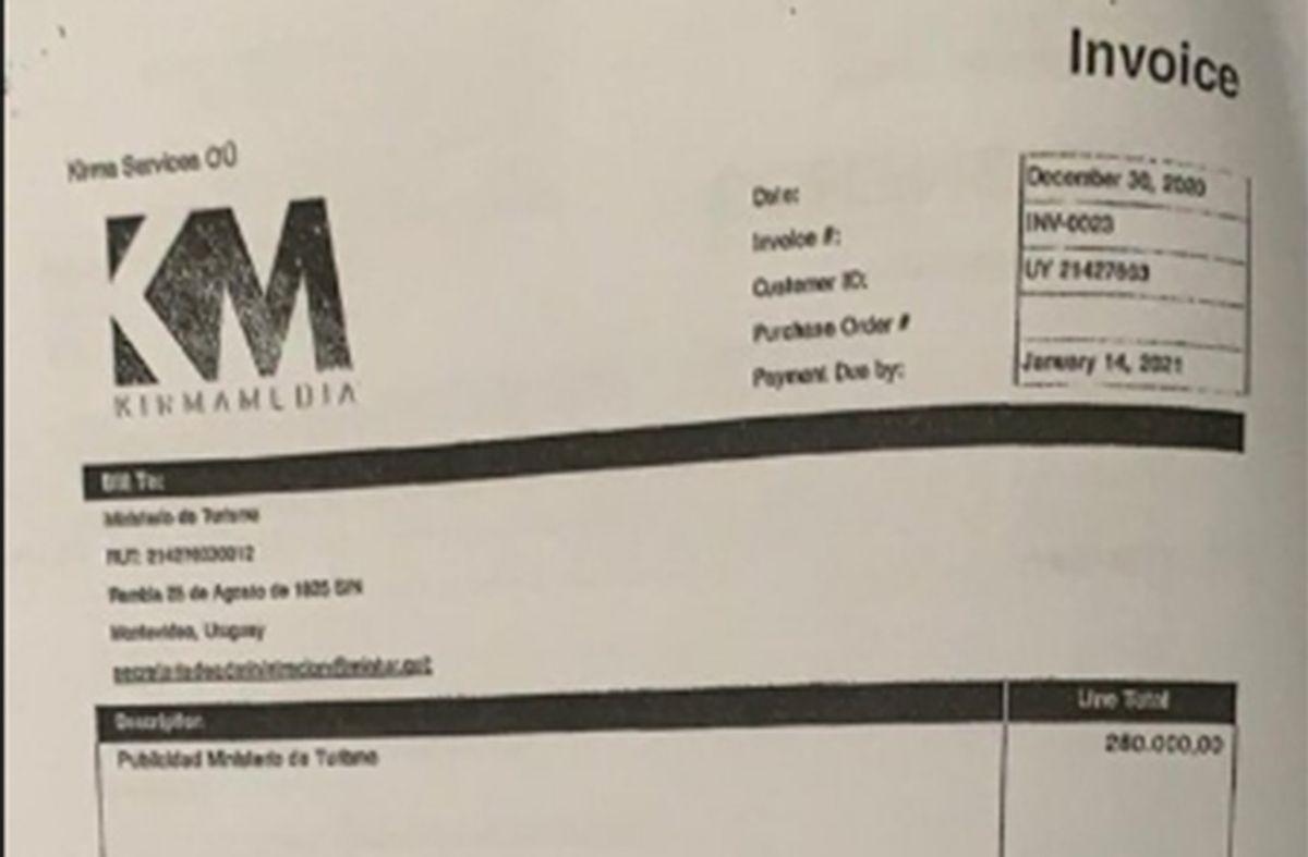 Kirma, contratada por Turismo, señala que información falsa le generó un perjuicio