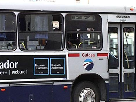 Línea A de Cutcsa desvía recorrido por robos y agresiones