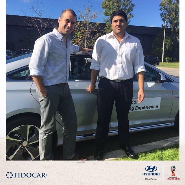Federico Cejas, ganador de la promoción Camino a Rusia con Hyundai